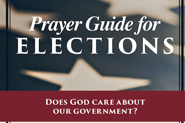 Praying for Elections Prayer Bookmark