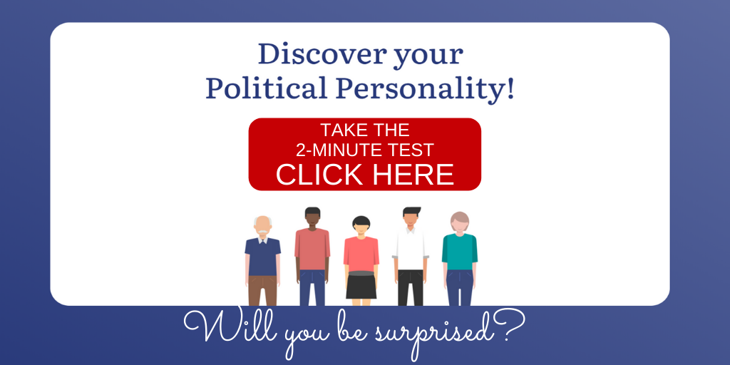 Discover your Political Personality invite