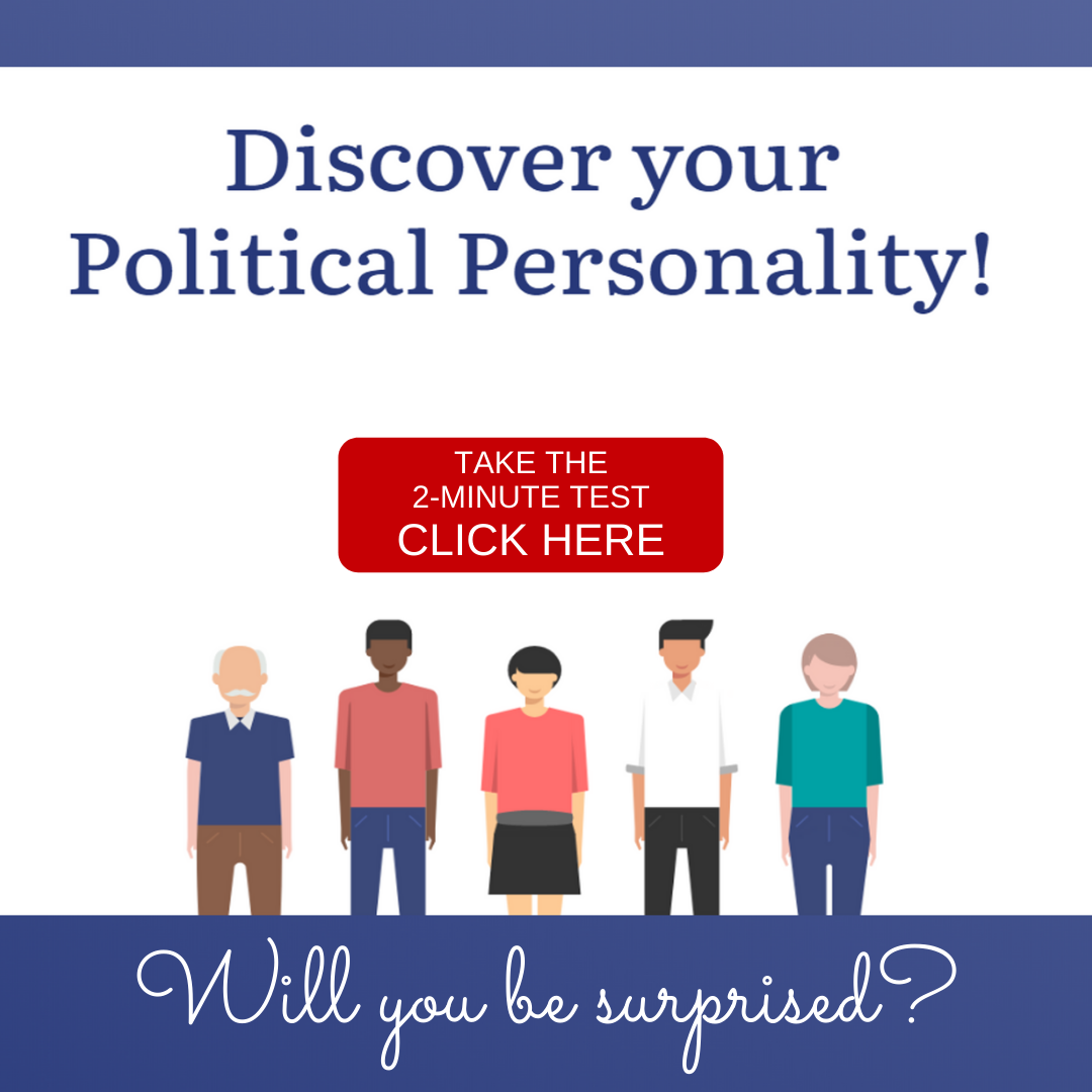 Discover My Political Personality invite Instagram