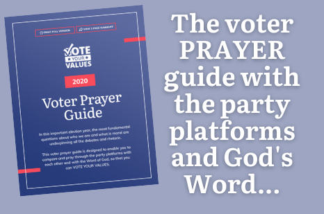 2020 Voter Prayer Guide